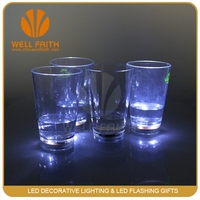 Party Promotional Champagne LED Glass, Light Up LED Glass, Flashing LED Cup