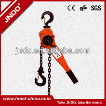 Lever lifting hoist factory direct sell 6Ton hand trolley
