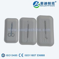 disposable medical chinese dental material paper tray
