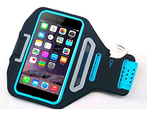 Universal Smartphone Armband Case For iPhone 6, Lycra Mobile Phone Running Armband For iPhone 6