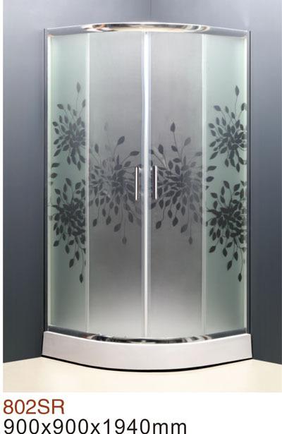 Prix d 39 usine sanitaires acrilyc cadre en verre tremp porte coulissante - Prix du verre trempe ...