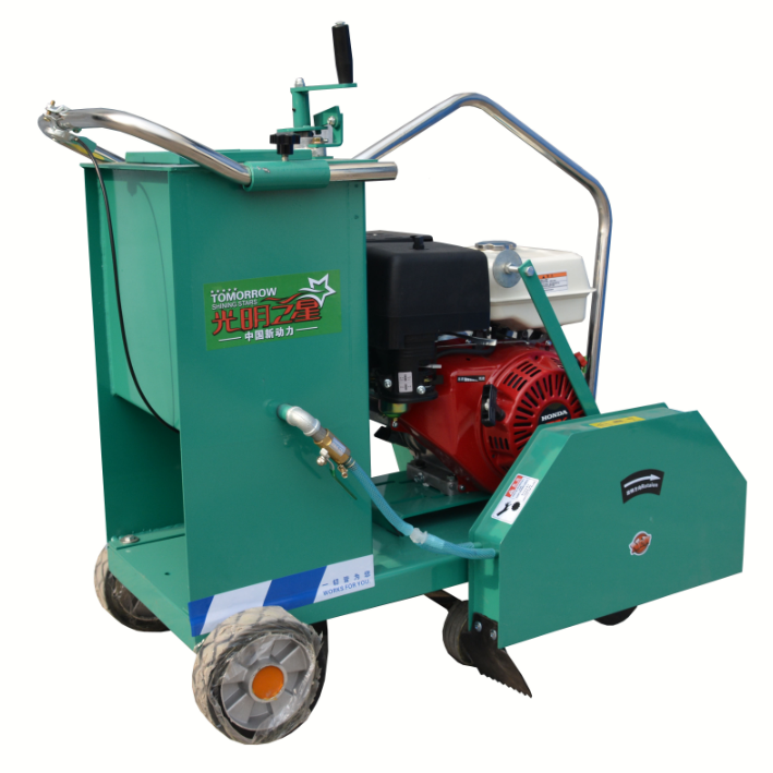 500 mm reinforced concrete road cutting machine