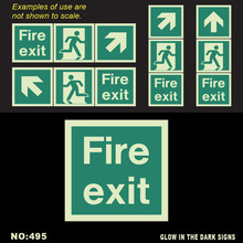 Excellence in Performance, Conformance by Design, Available from Professionals Photoluminescent exit, escape and safety signs