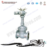 motorized non-rising stem PN 16 gate valve with competitive prices