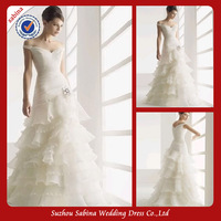 WM00251 Elegant multilayer 2013 african new style wedding dresses