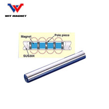 long service life ferrite impeder rods/magnetic rods/ high gauss magnetic bar