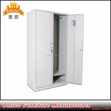 EAS-025 Beautiful and comfortable family use metal storage cabinet two doors wide steel locker