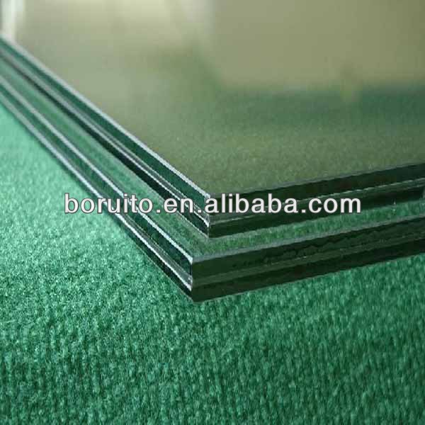high quality & competitive price Clear Laminated glass with EVA interlayer
