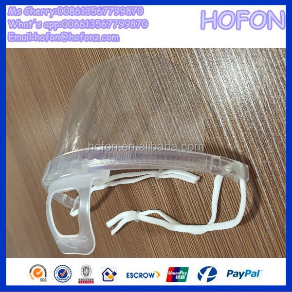 hot sell clear surgical mask for fast-food restaurant transparent face mask and transparent mask