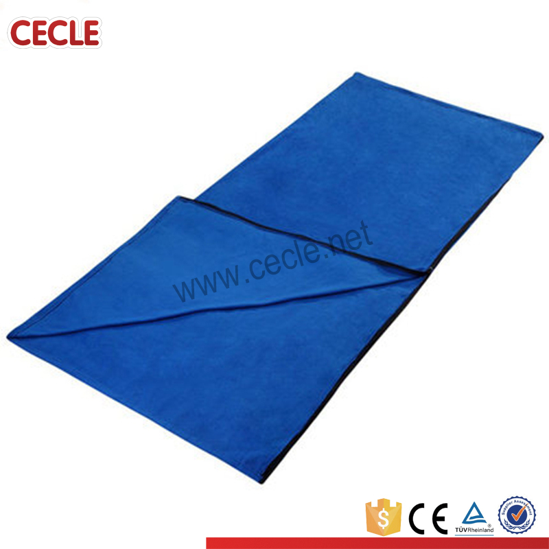 Anti pilling fleece camping warm blanket sleeping bag camping