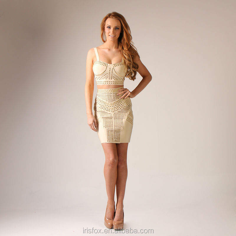 movie star evening dress african two piece set bandage dress