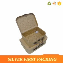 Wholesale cardboard suitcases box wedding favor factory