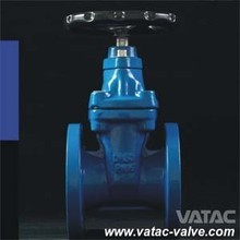 API/ASME Flanged Ends Resilient Seated Gate Valve with Stem Nut
