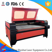 SH-1610 East Asia 80W-150W Automatic laser cut machine for wedding dress