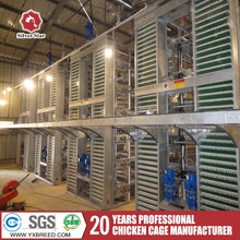 2017 up-down sliding door uganda poultry farm automatic chicken layer cage