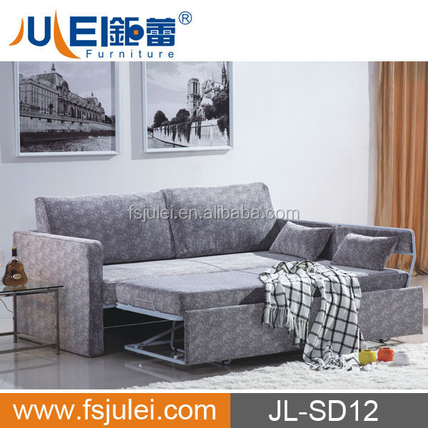 Classical Sofa Bed Mechanism Household Furniture Sofa Cum Bed Model DJ-SD12