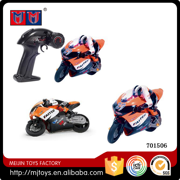 new & hotsale kid toys 1:10 RC motorcycle