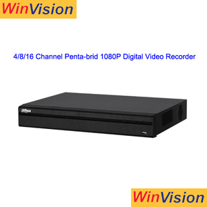 new dahua 1080p penta-brid 4ch 8ch 16ch dvr nvr cvr xvr digital video recorder for audio
