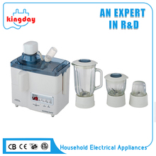 New item factory supply multifunction 4 in 1 food processor electric juicer blender machine