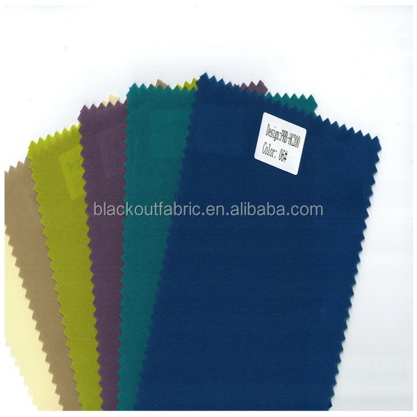 High Quality Coated Blackout Fabric Made from 200D Oxford Fabric