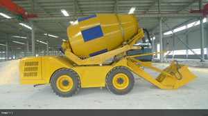 self-loading concrete mixer truck from China with best price