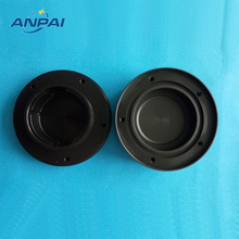 Black POM-C Round box CNC plastic prototype and mass production