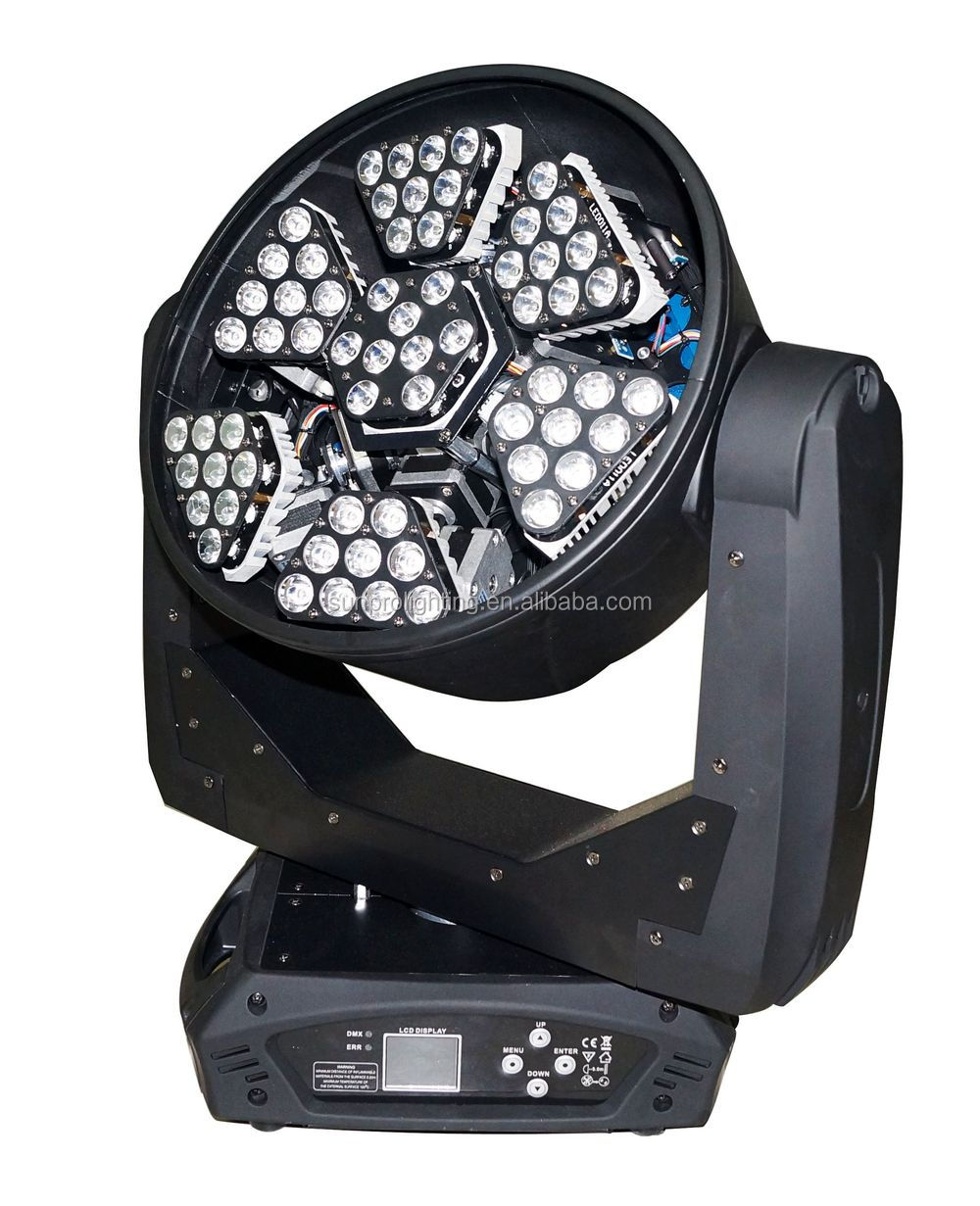 led chip 210w beam RGB moving head led wash light