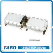 CFOGZ2 80A to 1600A with 3P or 4P load break isolating switch