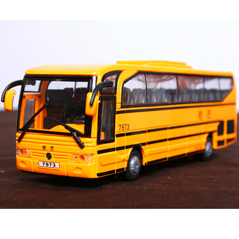 2017 New design school bus diecast OEM