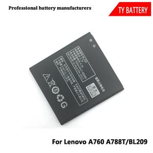 China factory wholesale original mobile phone battery BL209 2000MAH for Lenovo A760 A788T A820E A706 A398T