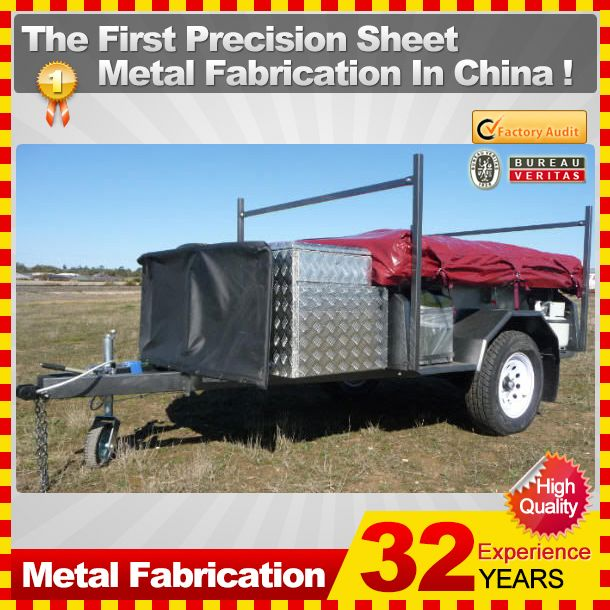 OEM or ODM metal camper trailer with 32-year experience