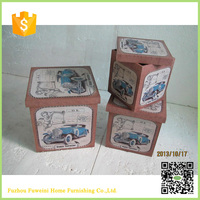 children cute christmas small wood gift boxes wholesale for sale
