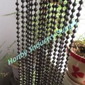 Wholesale 6mm Gunmetal Color Metal Bead Curtain Chain
