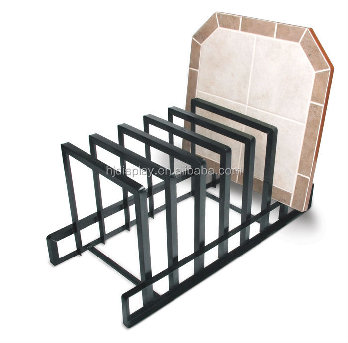Decorative Display Stand Metal Tiles Display Decoration Metal Diaplay Frame