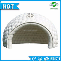 Inflatable tent easy to use outdoor tea house inflatable camping tent multi purpose for sale