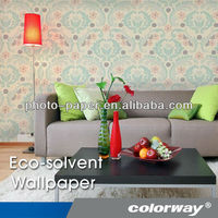 Colorway Eco-solvent Silver Embossed Wallcoverings with Smooches Wallpaper