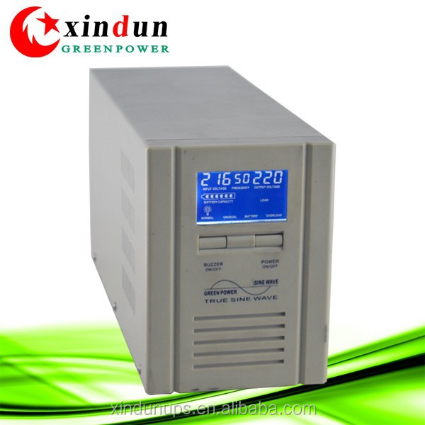 Foshan Xindun 2000va online ups 220v with battery bank for 1 hour back up