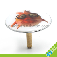 China Ningbo Guida Brass hot sale bathtub sink drain plug