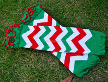 Newest chevron baby leg warmers fashion christmas baby leg warmers