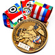 Hot Sale Custom Zinc Alloy Die Casting Custom Medal For Promotion Gift