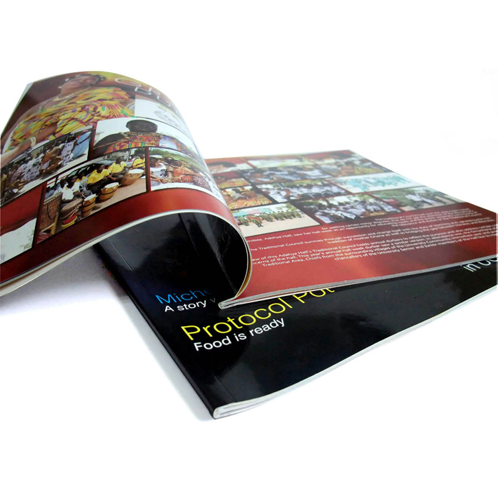 Professional magazine/flyers/brochure printing service in Shenzhen