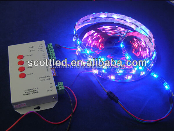 wholesale 5m/reel WS2811 led strips 30leds/m,30pcs WS2811 built-in the 5050 rgb led chip;DC5V input,waterproof IP65