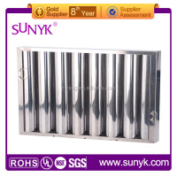 chinese kitchen exhaust range hood grease filter