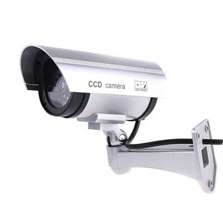 AB-BX-11 Security CCTV false Outdoor CCD camera Fake Dummy Security Camera waterproof IR Wireless Blinking Flashing Red Led