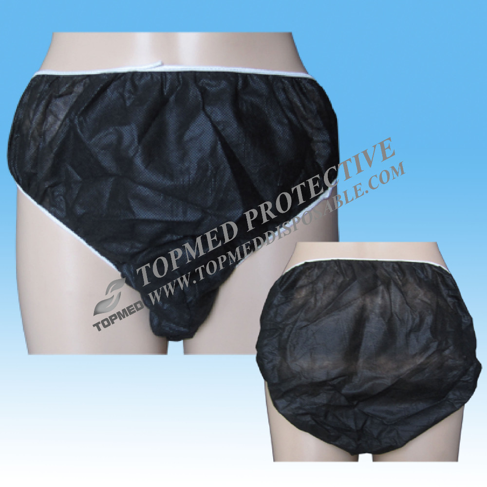 Hot Nonwoven Hospital Disposable Panties Spa Disposable