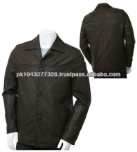 high quality mens leather coat