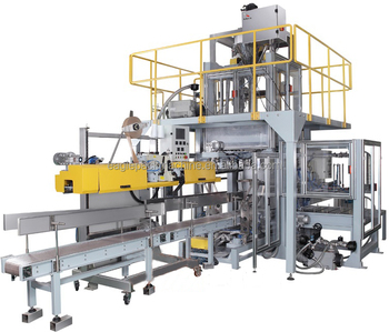 10-25kg automatic rice bag packaging machinery with CE