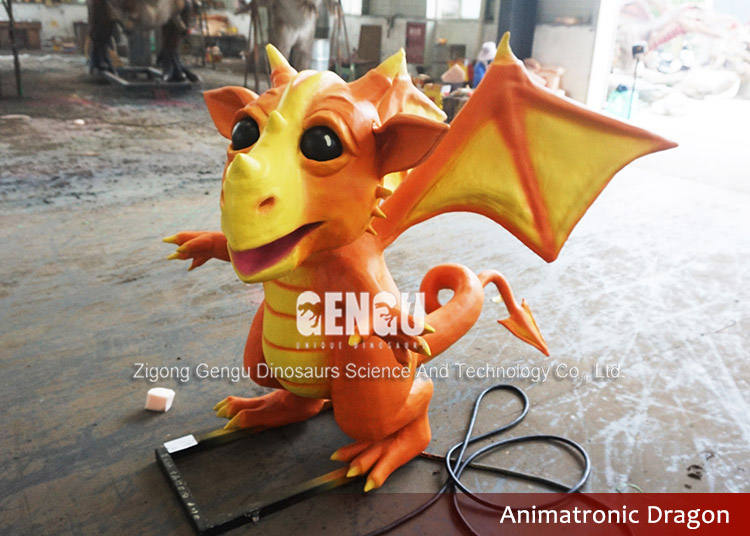 Animatronic Cartoon Model Dragon Robot