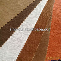 Soft PU Embossed Bonded Leather for Sofa Mexico (furniture leather)