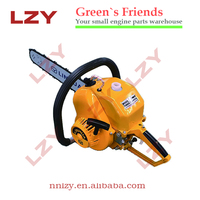 Petrol certification and ce/starter gasoline chain saw gas power chainsaw